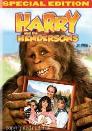 Harry And The Hendersons: Special Edition Movie
