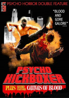 Psycho Kickboxer / Canvas Of Blood (Psycho Horror Double Feature) Movie