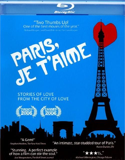 Paris, Je Taime Blu-ray