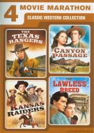 4 Movie Marathon: Classic Western Collection Movie