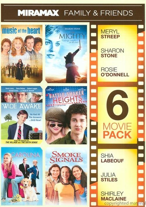 6 Movie Pack: Miramax Family & Friends Movie
