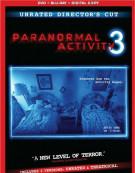 Paranormal Activity 3 (DVD + Blu-ray + Digital Copy) Blu-ray