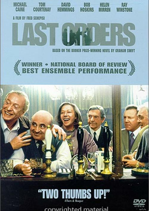 Last Orders Movie