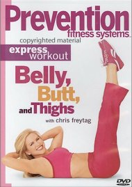Prevention Fitness Systems: Express Workout - Belly, Butt And Thighs Movie