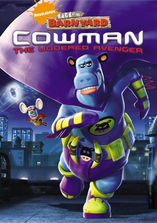 Back At The Barnyard: Cowman - The Uddered Avenger Movie