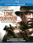 Lone Survivor (Blu-ray + DVD + UltraViolet) Blu-ray