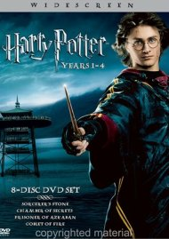Harry Potter Years 1 - 4 (4 Pack) Movie