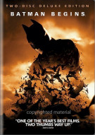 Batman Begins: 2-Disc Deluxe Edition Movie