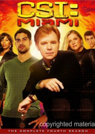 CSI: Miami - The Complete Fourth Season Movie
