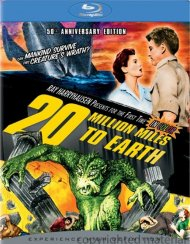 20 Million Miles To Earth: 50th Anniversary Edition Blu-ray