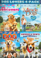 Dog Lovers 4-Pack Movie
