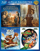 4 Film Favorites: Family Adventures Blu-ray