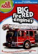 All About Big Red Fire Engines & Construction Movie