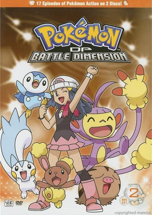 Pokemon: Diamond And Pearl Battle Dimension - Box 2 Movie