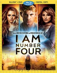 I Am Number Four (Blu-ray + DVD + Digital Copy) Blu-ray