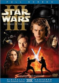 Star Wars Episode III: Revenge Of The Sith (Fullscreen) Movie