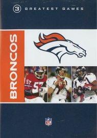 NFL Greatest Games Series: Denver Broncos Movie
