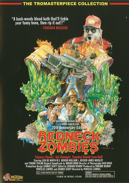Redneck Zombies: 20th Anniversary Gold Edition Movie