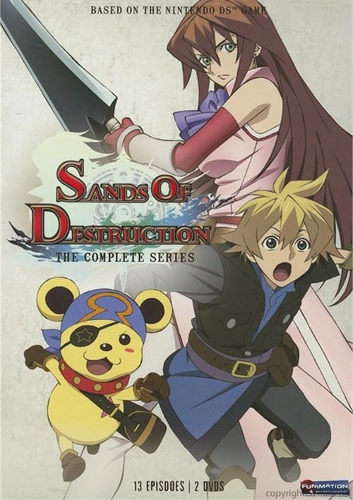 Sands Of Destruction: Complete Series Movie
