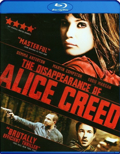 Disappearance Of Alice Creed, The Blu-ray