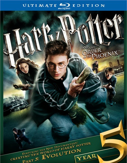Harry Potter And The Order Of The Phoenix: Ultimate Edition Blu-ray