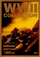 WW II Collection: The Thin Red Line/ Tora!Tora!Tora!/ Patton/ The Longest Day Movie