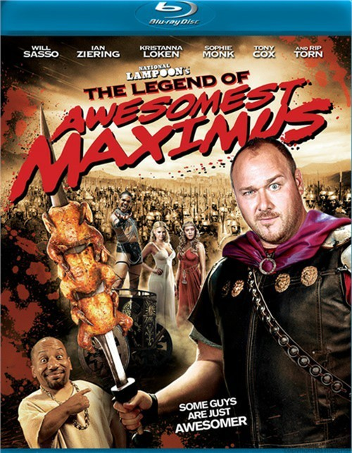 National Lampoons The Legend Of Awesomest Maximus Blu-ray