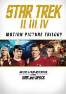 Star Trek: Motion Picture Trilogy (Repackage) Movie