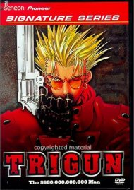 Trigun 1: The $$60,000,000,000 Man - Signature Series Movie
