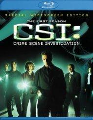 CSI: Crime Scene Investigation - The Complete First Season Blu-ray