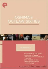 Oshimas Outlaw Sixties: Eclipse From The Criterion Collection Movie