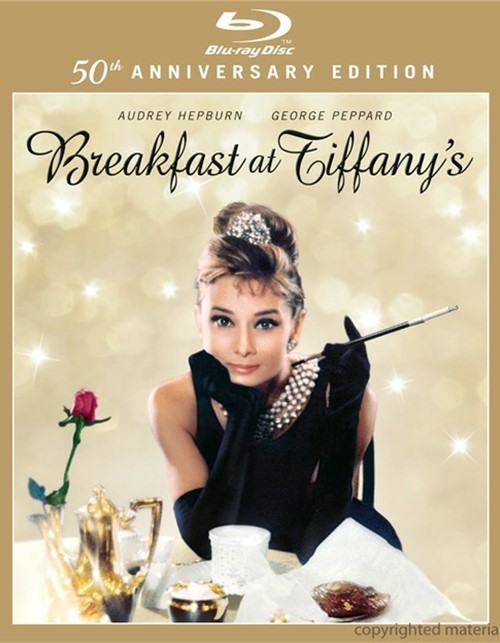 Breakfast At Tiffanys: 50th Anniversary Edition Blu-ray
