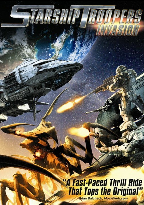 Starship Troopers: Invasion (DVD + UltraViolet) Movie