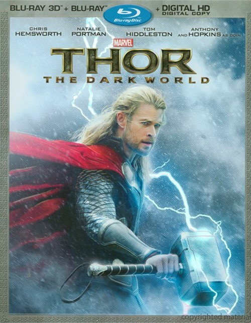 Thor: The Dark World 3D (Blu-ray 3D + Blu-ray + Digital Copy) Blu-ray