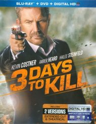 3 Days To Kill  (Blu-ray + DVD + UltraViolet) Blu-ray