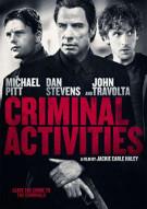 Criminal Activities Movie