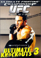 UFC: Ultimate Knockouts 3 Movie