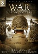 War: Heroic Battles - Bridge At Remagen / The Devils Brigade / 633 Squadron (Triple Feature) Movie