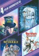 4 Film Favorites: Tim Burton Collection Movie