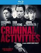 Criminal Activities Blu-ray
