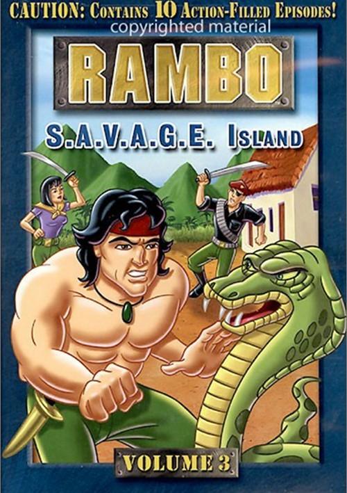 Rambo: Volume 3 - S.A.V.A.G.E Island Movie