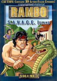 Rambo: Volume 3 - S.A.V.A.G.E Island Movie