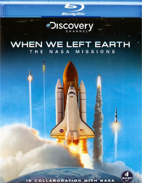 When We Left Earth: The NASA Missions Blu-ray