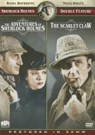 Adventures Of Sherlock Holmes / The Scarlet Claw (Sherlock Holmes Double Feature) Movie