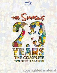 Simpsons, The: The Complete Twentieth Season Blu-ray