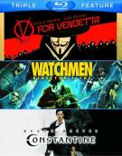 V For Vendetta / Watchmen / Constantine (Triple Feature) Blu-ray