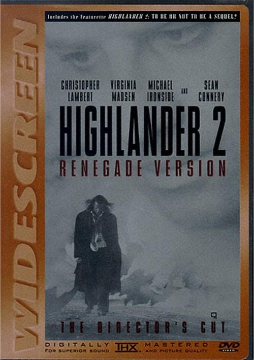 Highlander 2: Renegade Version Movie