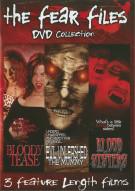 Fear Files 3 Disc Set Movie
