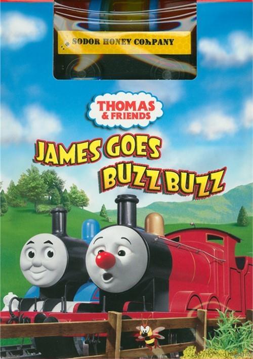 Thomas & Friends: James Goes Buzz Buzz (With Toy Train) Movie
