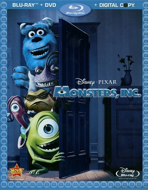 Monsters, Inc. Blu-ray